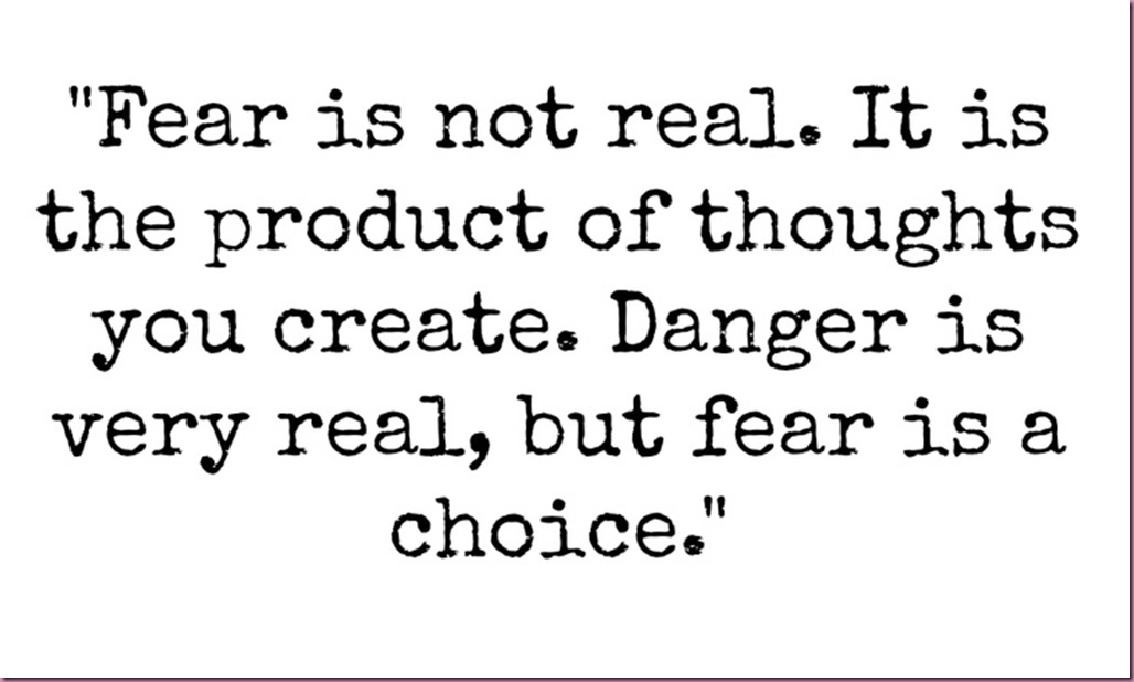 Fear-is-not-real
